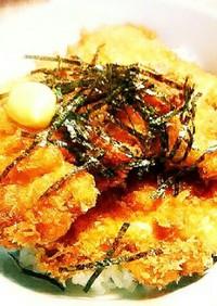鶏むね肉のたれカツ丼