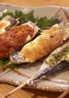 さんまの串焼き!味比べマヨアラカルト