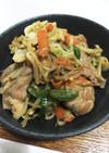 豚肩ブロックと袋野菜で柔らか野菜炒め♡