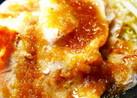 薄切り豚ロースステーキおろし玉ねぎソース