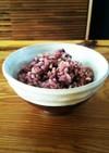 土鍋で炊く白米&玄米&黒米ごはん