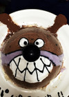 バイキンマンを愛する人へのアイスケーキ