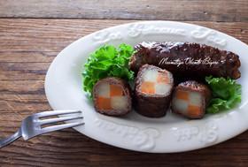 にんじんとポテトの牛肉巻き