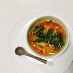 今日のスープ・キムチ味噌スープ