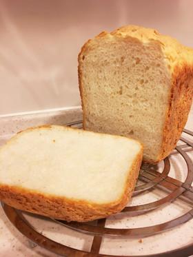 ホームベーカリーで米粉配合ふわふわ食パン