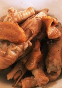 鶏のもみじの煮物