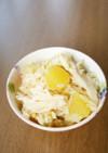 白舞茸と薩摩芋の炊き込みご飯