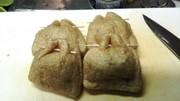 油揚げの納豆包み焼きの写真
