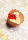 卵白消費に♡簡単カップケーキ