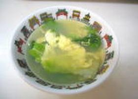 簡単!レタスたまごスープ☆