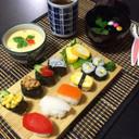 1歳の誕生日に!本物そっくり離乳食お寿司