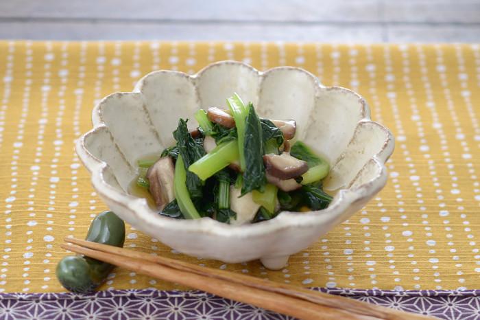 妊娠、授乳に!小松菜のおひたし