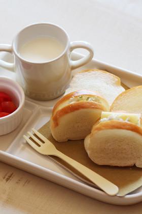 【離乳食完了期】ロールパンツナサンド