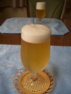 ビールのようなゼリー♪
