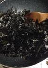 残った海苔が困ったらフライパンで韓国海苔