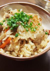 美味♡きのこ・人参・ひき肉の炊き込みご飯