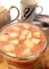 グレープフルーツとりんごのスムージー