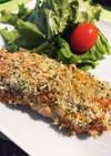 秋鮭の青のりパン粉焼き★トースターで簡単