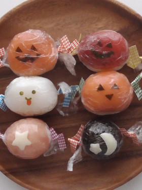 ハロウィンのキャンディ寿司