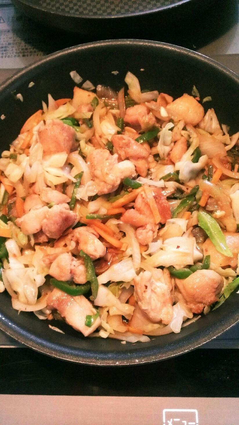 野菜たっぷり味噌鶏ちゃん☆