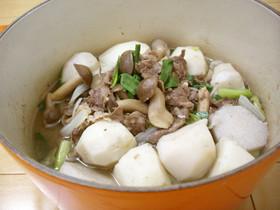 【京都丹波】亀岡牛と京野菜のいも煮