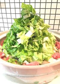 簡単メイン☆豚こま&白菜ときのこの旨塩鍋