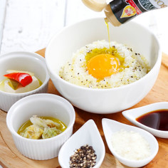 オリーブ香る 卵かけご飯