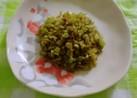簡単♪常備菜に!大根の葉(茎)ゴマ油炒め