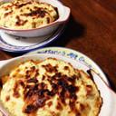 豆腐マヨソースの野菜グラタン