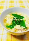 優しい♡レタス&卵のチーズinスープ♡