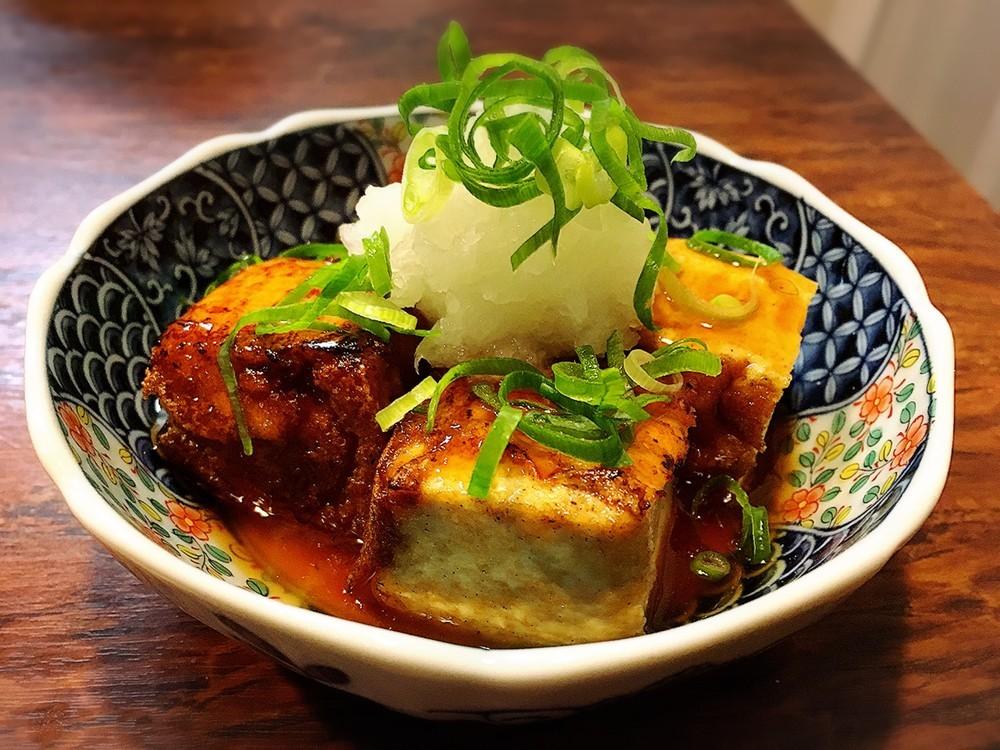 2  厚揚げの揚げ出し豆腐