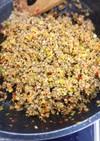 担々麺や麻婆豆腐の肉味噌風を冷凍ストック