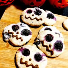 ブルーベリーのハロウィンクッキー