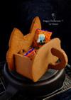 ハロウィン♡猫型クッキーのお菓子箱!