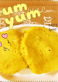離乳食♡赤ちゃんの朝ごはんレンジ蒸しパン