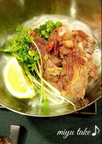 ビーフフォー♪アジアン麺美味し〜♡