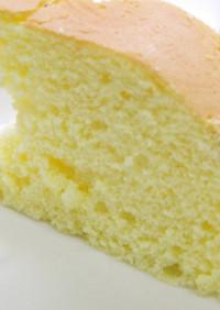 炊飯器スポンジケーキ