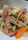 スパムと島豆腐のチャンプルー