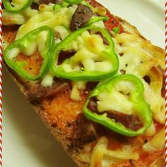 ダシダ&ケッチャのピザsでピザトースト!