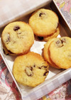 自家製ラムレーズンの型抜きクッキー♡