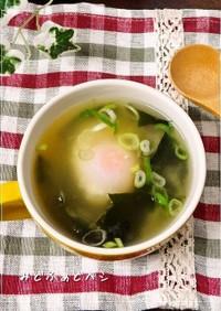 簡単✿ダシダの即席うま玉味噌スープ