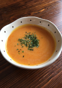 ミキサー不要♡バターナッツかぼちゃスープ