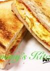 ランチに♬朝食に♪厚焼きタマゴサンド
