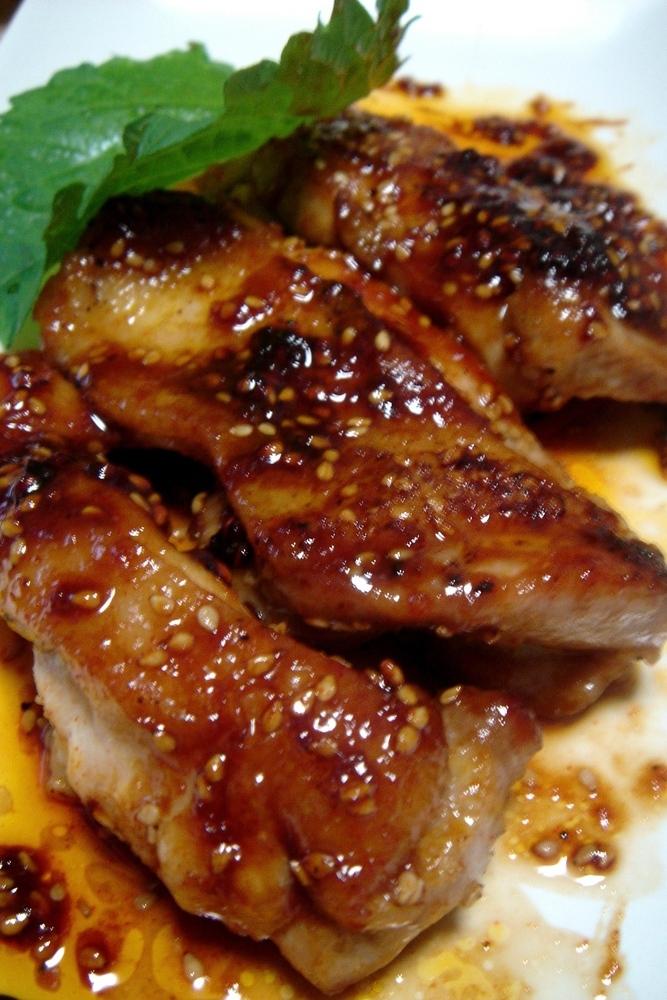 鶏もも肉の激うまじゅ~し~焼き