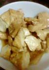 鶏ムネ肉と厚揚げのレモンステーキソース