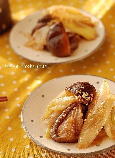トロトロが美味しい♡キノコと椎茸のスキ煮