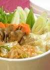 ギョウザ入り☆韓国風キムチ鍋