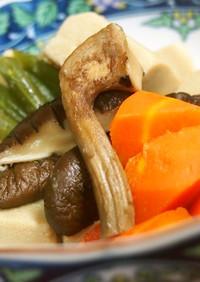 ♡あごだしdeささっと高野豆腐の煮物♡