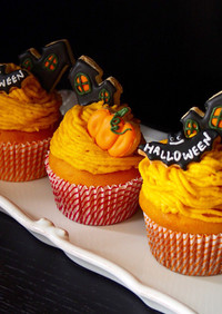 ハロウィンにHMでかぼちゃのマフィン♡