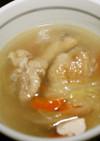 ダシダで薬膳風スープ